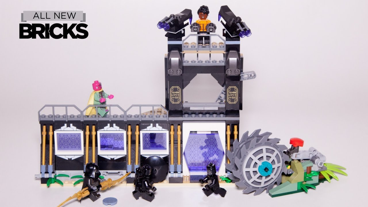 Lego Marvel Super Heroes 76103 Corvus Glaive Thresher Attack Lego Speed Build