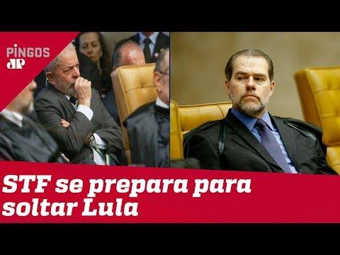 Toffoli prepara STF para soltar Lula