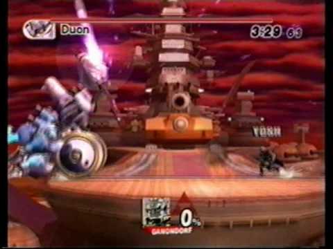 SSBB Boss Battles Intense No Damage (Ganondorf)