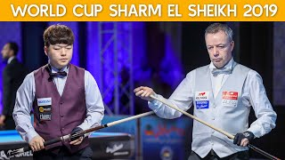 3-Cushion World Cup Sharm El Sheikh 2019 - Dick Jaspers vs Myung Woo Cho