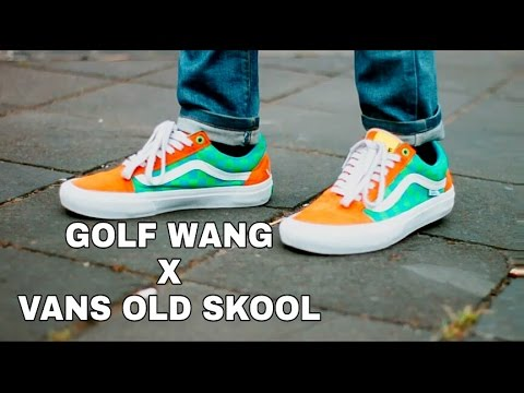 36e8dcf8be73fe Golf Wang x Vans Pro Classics Old Skool - YouTube