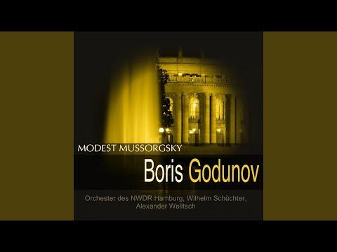 Boris Godunov, Prologue, Scene 1: Was soll das? (Nikitich)
