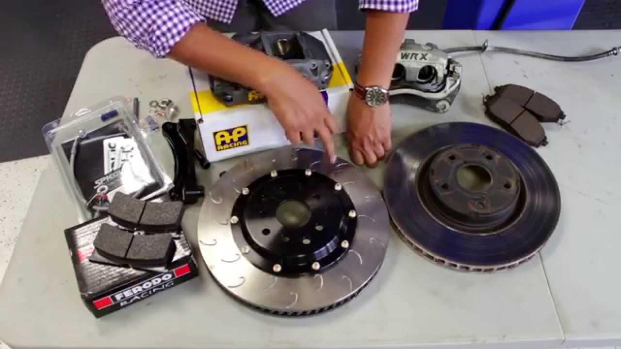 SubiSpeed - 2015 WRX and STI AP Racing Big Brake Install - DIY