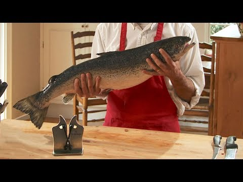 How to Fillet a Salmon at Home - Easy and Fast
