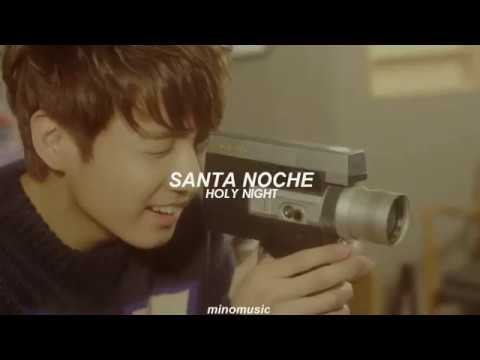 Oh Holy Night - Jungkook (BTS) (Sub. Español // Eng Lyrics) [BTS / FMV]