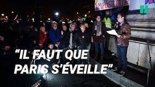 À Paris, Ruffin tente de rallier les citadins sans gilet jaune aux gilets jaunes