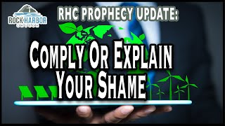 10-23-21 Comply or Explain Your Shame [Prophecy Update]