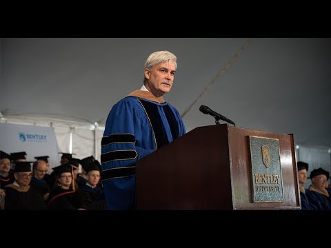 David Long, Liberty Mutual CEO, Delivers Bentley University Class of 2017 Commencement Speech