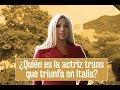 La actriz trans colombiana que triunfa en Italia y quiere ser profeta en su tierra.