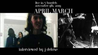April March interview Martyrs Of Pop