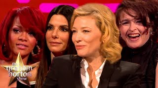 Rihanna Talks Hair Removal & More From Ocean's 8 Cast on The Graham Norton Show | CLASSIC CLIPS