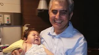 omurilik tümörü - servikal intrameduller kitle 10 aylık  bebek