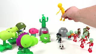 Plants vs Zombies 2 compilation fun toys for Kids PlayClayTV