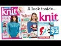 A Look Inside Knit Now Magazine Issue 92