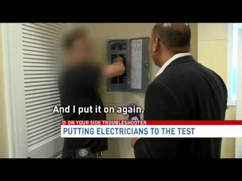 7 On Your Side Troubleshooter: Electrician Test