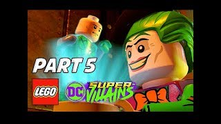 LEGO DC Super Villains Walkthrough Gameplay Part 5 - Escape Arkham Prison (Let