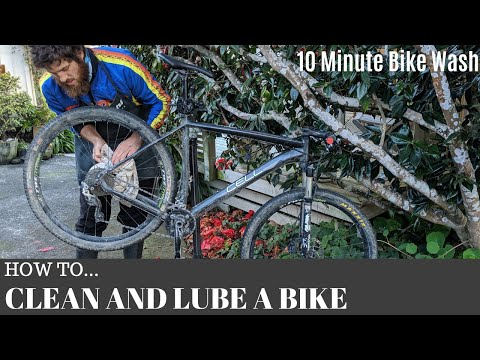 The 10 Minute Bike Wash   How To Clean And Lube Your Bike