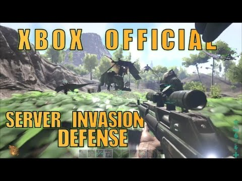 ARK Xbox Official Defence From Server Invaders