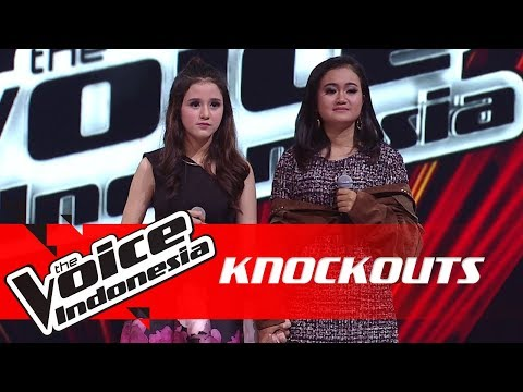 Virza vs Anis   Knockouts   The Voice Indonesia GTV 2018