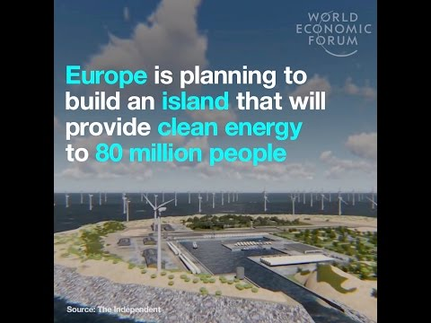 Europe is planning to build an island that will provide clean energy to 80 million people