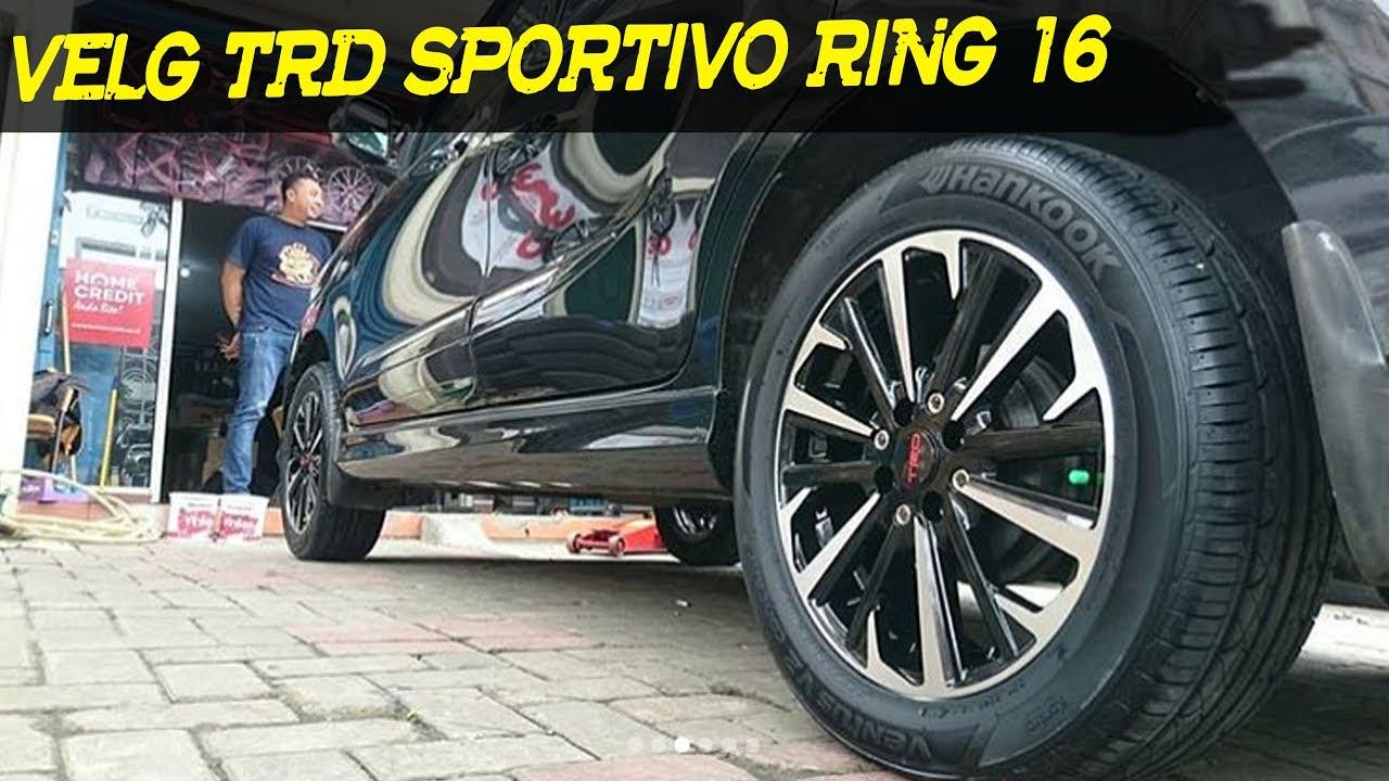 jual velg grand new veloz avanza 1.3 g m/t 2016 mobil trd sportivo ring 16 pasang di by sinar otomax
