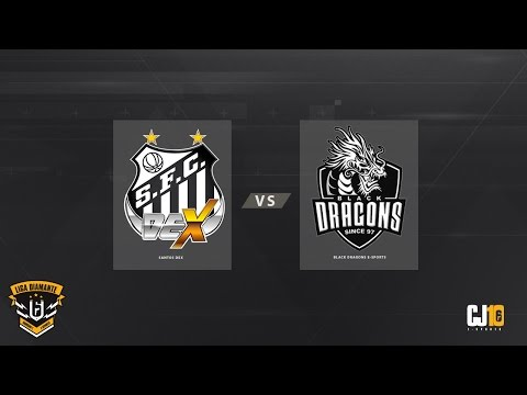 Liga Diamante #3 (Rodada 3) - Santos Dex VS Black Dragons e-Sports