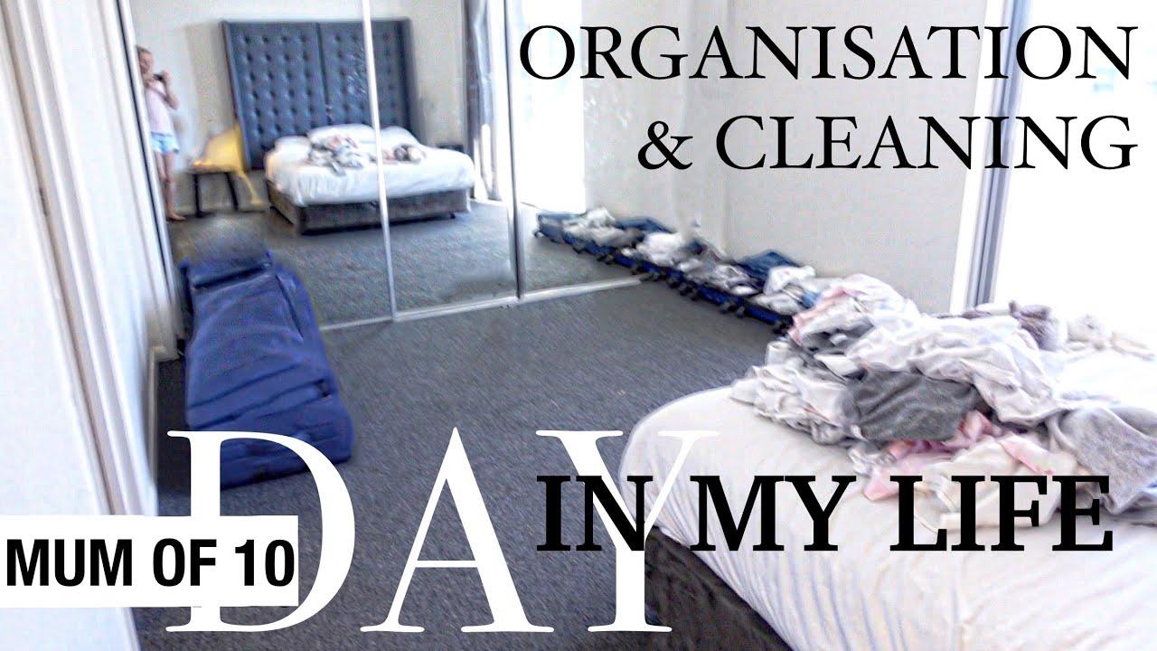 ☀️DAY IN MY LIFE☀️ (Organisation/Cleaning) MOM OF 10 @Taina Licciardo-Toivola LARGE FAMILY / TOUR !
