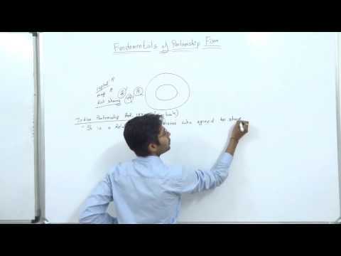 fundamental of partnership part 1, theory class 12