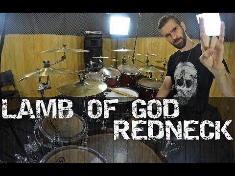 LAMB OF GOD - REDNECK - PEDRO TINELLO - DRUM COVER