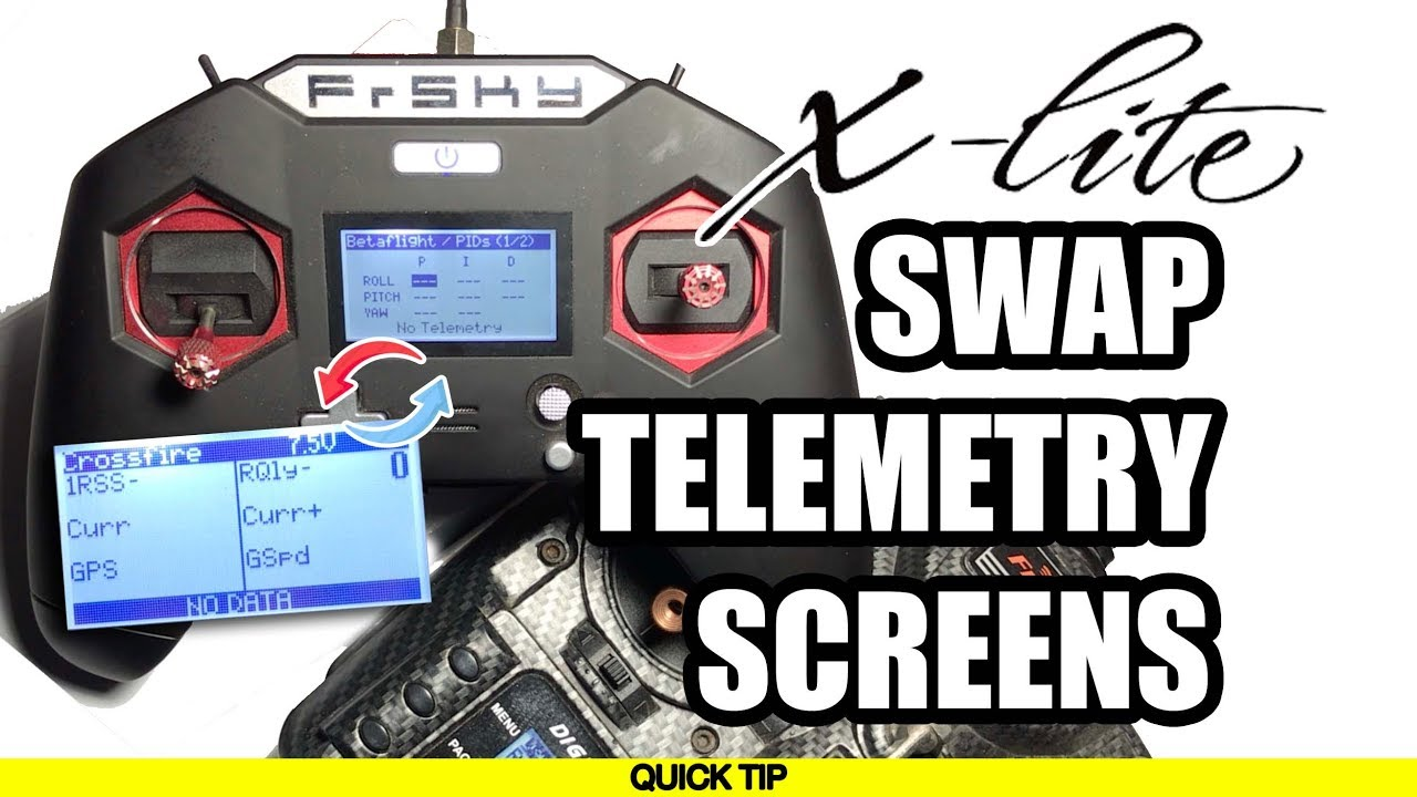 Taranis x lite telemetry screens | IntoFPV Forum