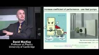 David MacKay: Sustainable Energy - Without the Hot Air (pt. 3/5)