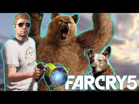 UZAYLI SİLAHIM VAR LAN ft.AYI PEYNİR (Far Cry 5 Eğlenceli Anlar)