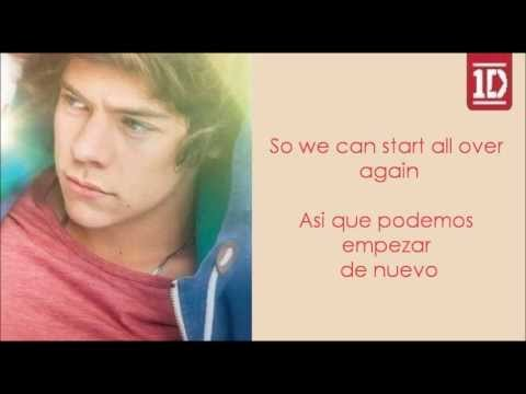 Over Again - One Direction (Letra en ingles y español)