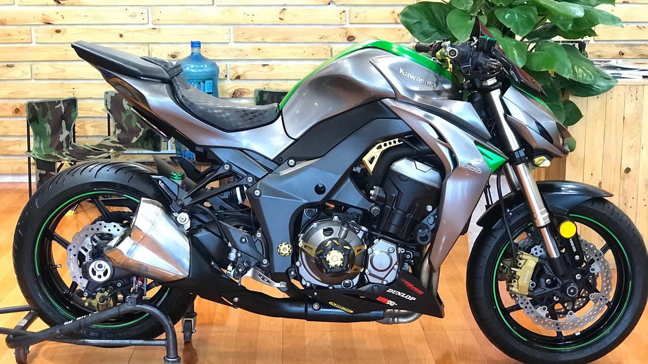 Kawasaki Z1000: Anh em fan của Z1000 ko nên bỏ qua clip này ; xe kiểng giá cực tốt : 0912174953