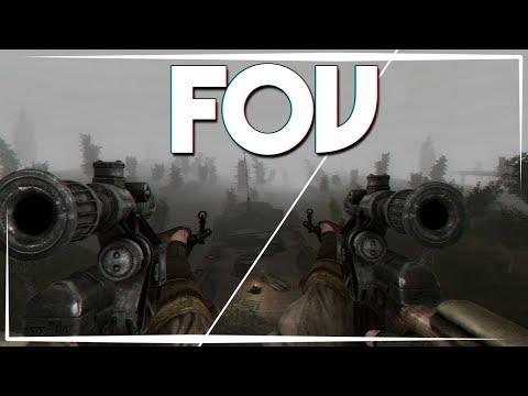 Как Изменить FOV в Сталкере Зов Припяти!