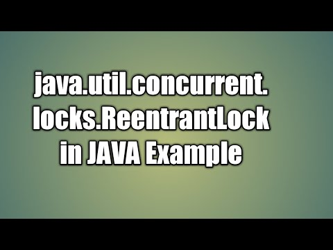 Java lock example – reentrantlock(java锁的例子) 星朝 博客园.