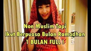 Tak banyak yang tau !! Walaupun NON MUSLIM, 5 Seleb ini ikutan puasa ramadhan 1 bulan penuh,