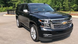 2019 Chevrolet Tahoe Premier Plus Review Test Drive and Features