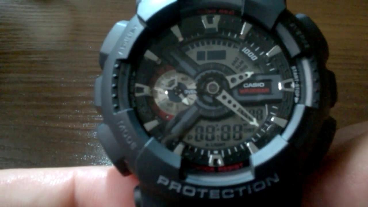 5c88284814143 casio g-shock ga110 zegarek oyrginalny G-shock fake vs real - YouTube