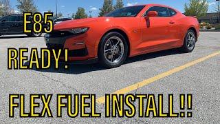 2019 Camaro SS Flex Fuel Kit E…