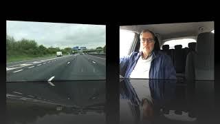 40KWh Leaf motorway speed energy consumption