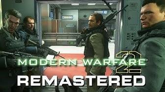 Call of Duty Modern Warfare 2 Remastered Gameplay Deutsch - Kein Russisch