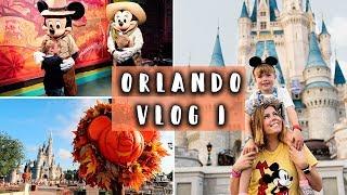 ORLANDO FLORIDA 2018   DISNEY WORLD ALL 4 PARKS   ORLANDO VLOG 1