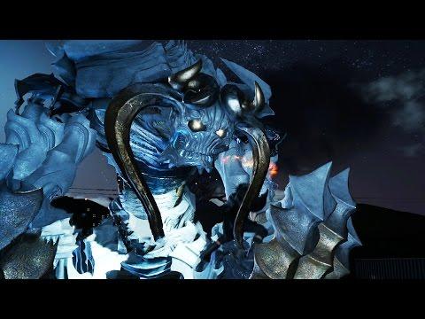Final Fantasy 15: Naglfar Lv 120 Boss Fight (1080p 60fps) - Most