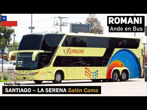 Ando En Bus | Viaje Buses Romani Salón Cama Desde La Serena + Modasa Zeus 3 Scania