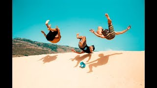 Beach Flips at the Sand Dunes in Spain