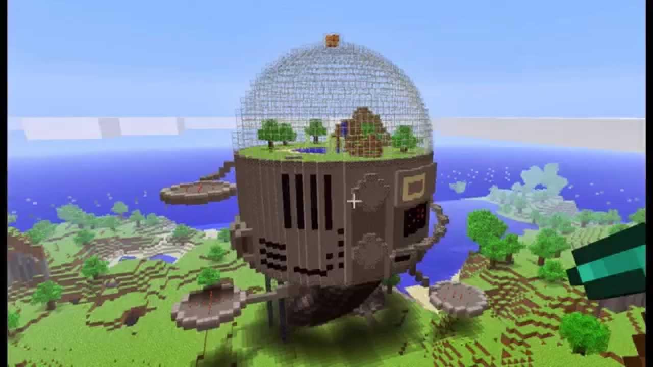 Die 10 coolsten Bauwerke in Minecraft - YouTube