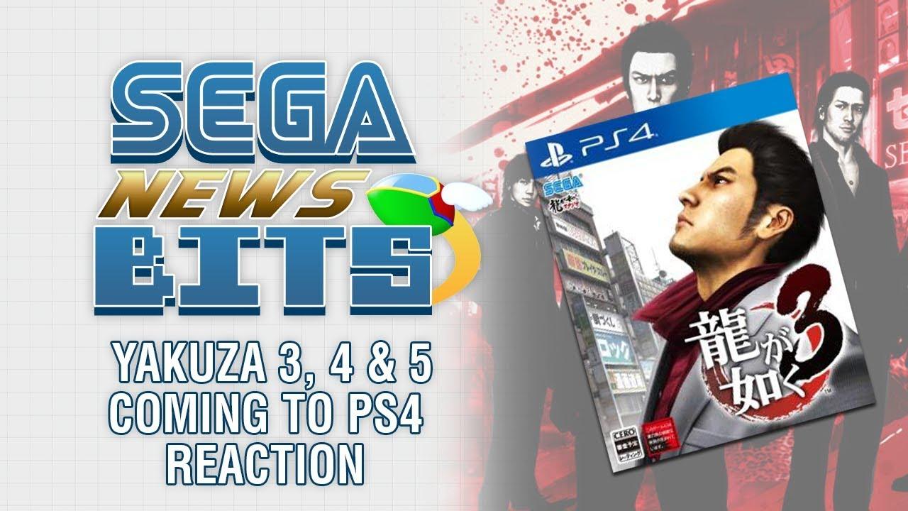 Yakuza 3, 4 and 5 Coming to PS4 Reaction