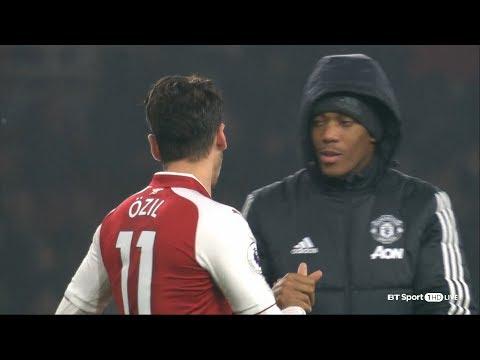 Mesut Özil vs Manchester United (Home) 17-18 HD 1080p