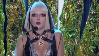 Anna Julie Slováčková jako Lady Gaga ,,The edge of glory''